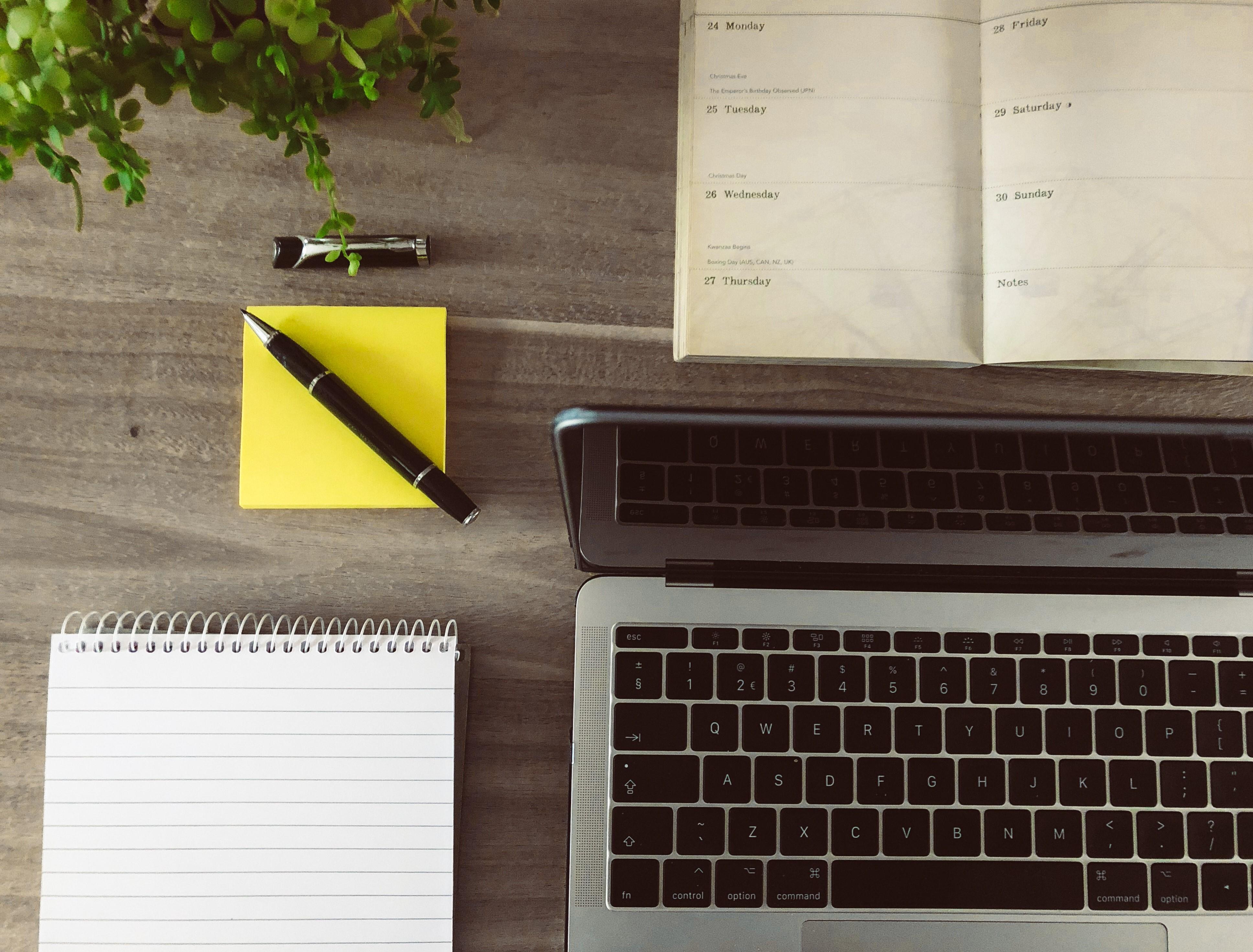 Laptop notebook pen